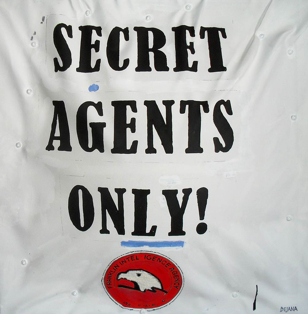 Secret Agents only!